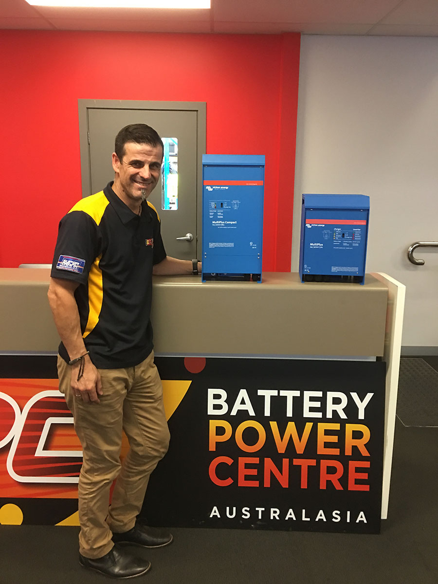 Staff in the Battery Power Centre office in Dandenong