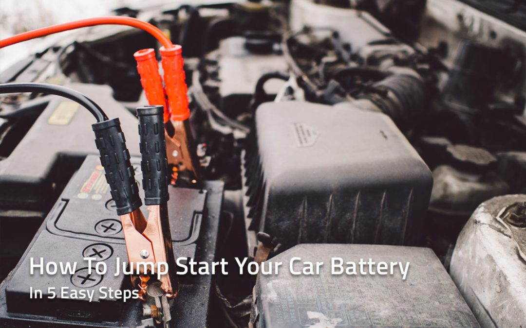 How To Jump Start Your Car Battery Safely in Five Easy Steps