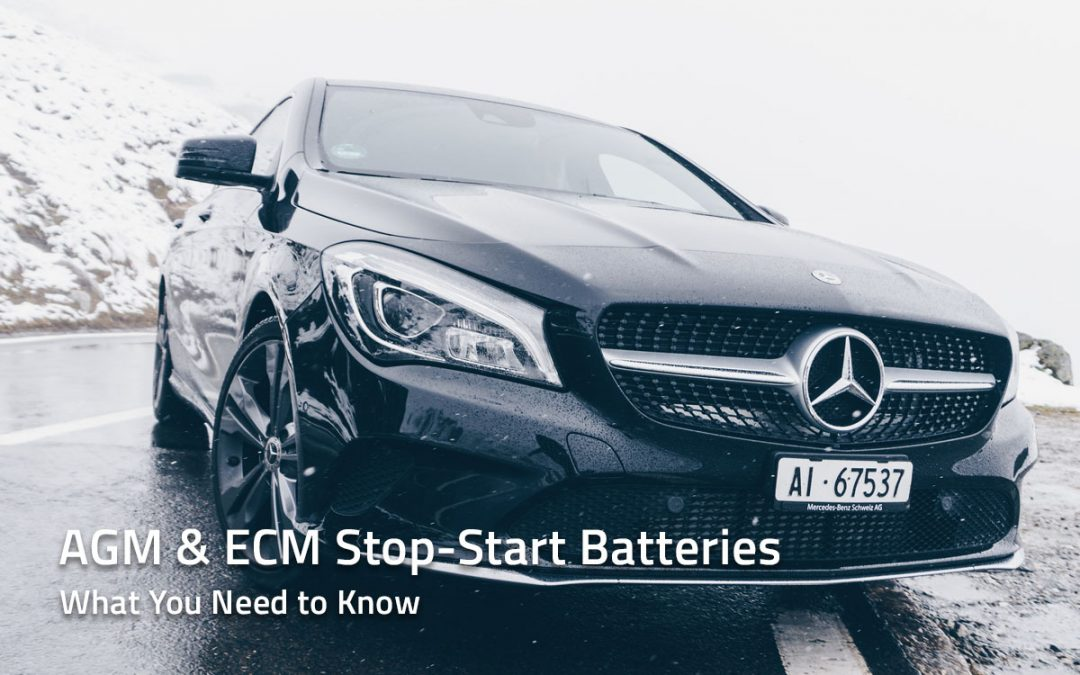 What You Need To Know About AGM and ECM Stop-Start Batteries