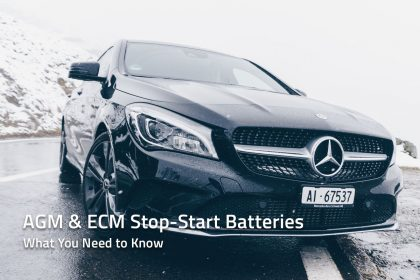 Euro cars with an AGM stop start battery